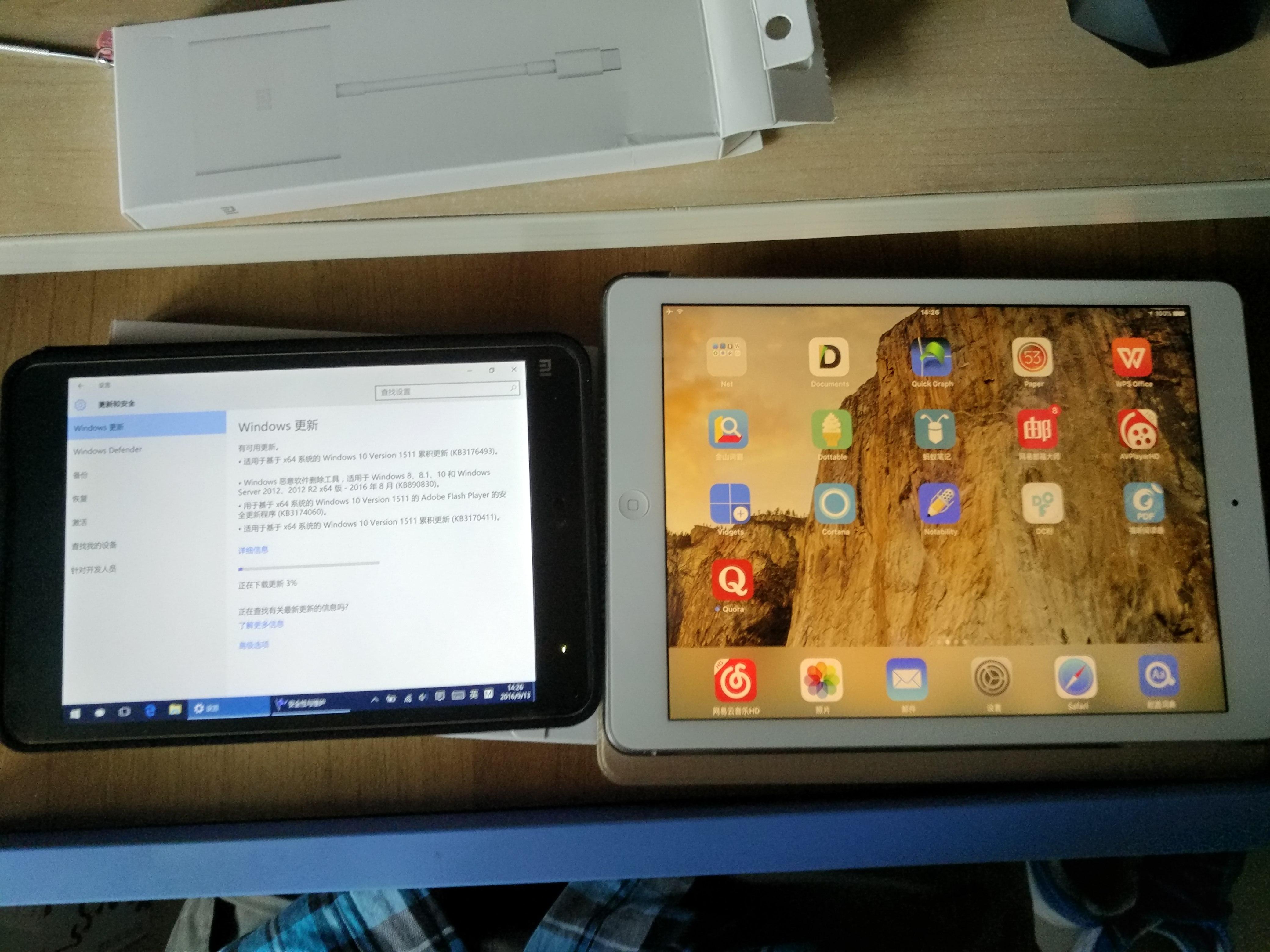 与iPadAir相比